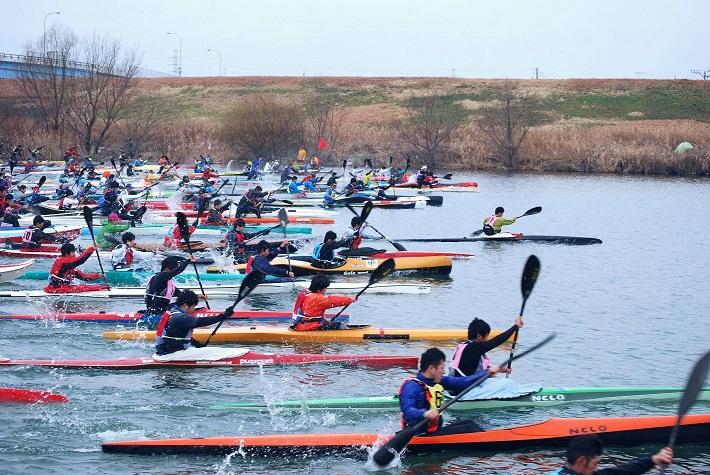 千葉県クラブ対抗カヌー競技大会