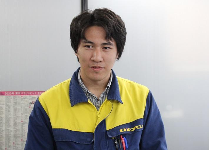 図面担当の宮崎さん