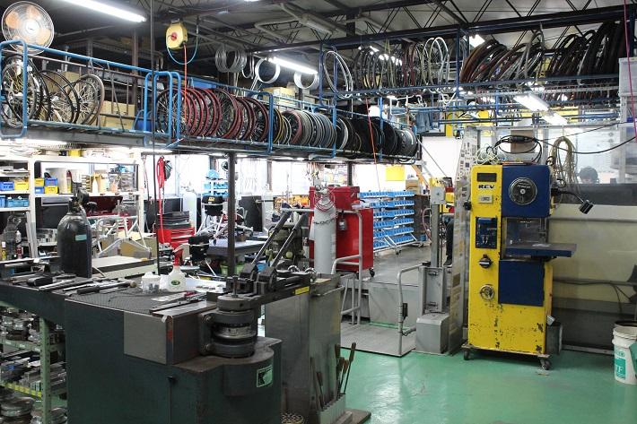 OX工場内の様子