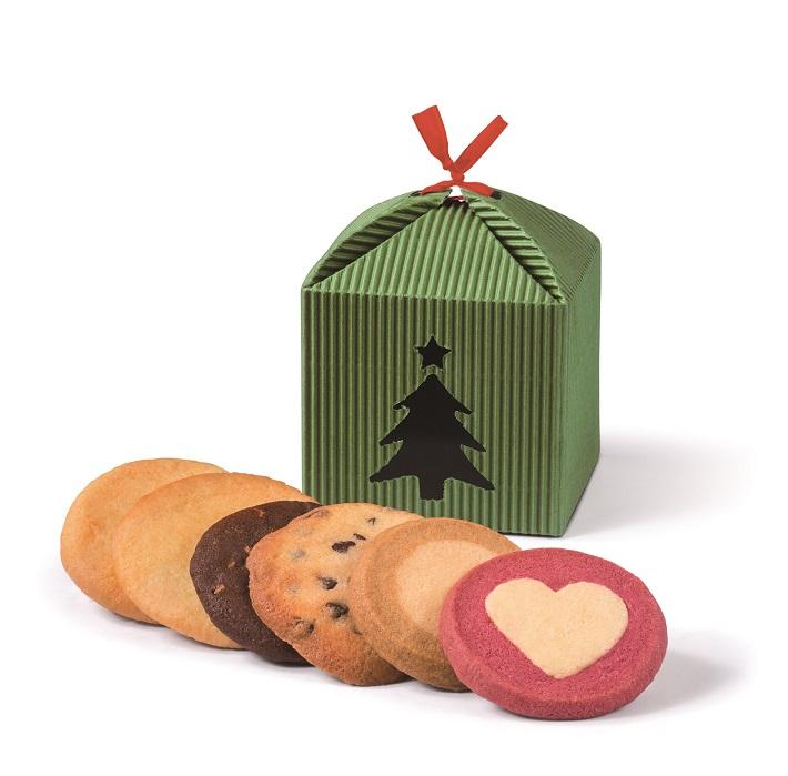 ステラおばさんのクッキー「クリスマステントボックス」