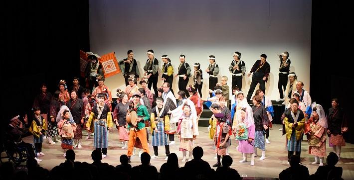 初めてのチャレンジド歌舞伎「歌舞伎迷作面白双六」開催の様子(2017年)