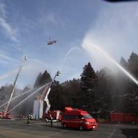 成田市の消防出初式