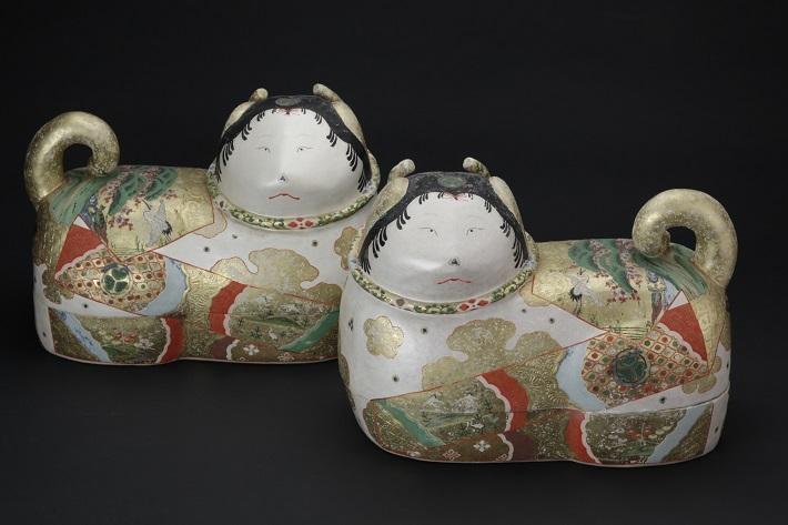 岩槻人形博物館、犬筥/江戸時代