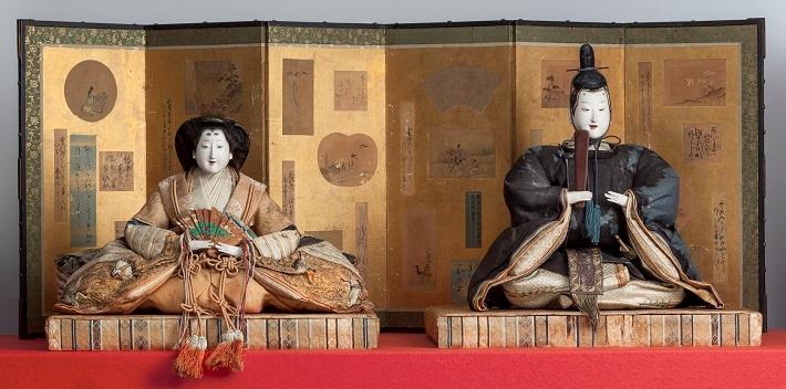 岩槻人形博物館、古今雛/江戸時代