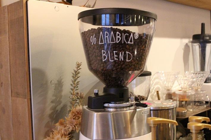 船橋市チルキッチンのコーヒーはアラビカ豆