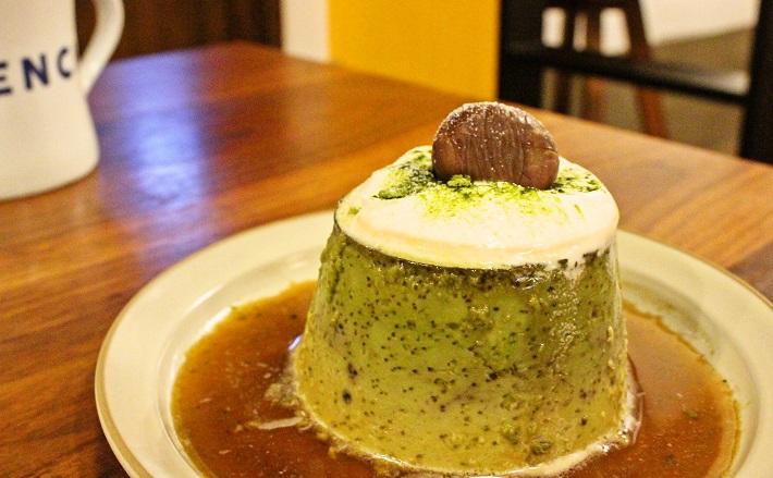 千葉市のカフェベンチコーヒーのプリン