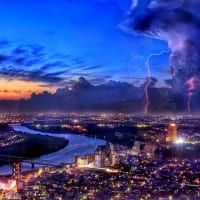 マジックアワーの江戸川