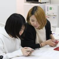 千葉県船橋市のオンライン学習塾テラコヤイッキューの先生と中学生の生徒