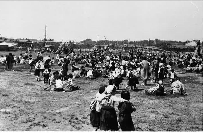 遠足の行き先としても定番だった谷津遊園(1936年ごろ)