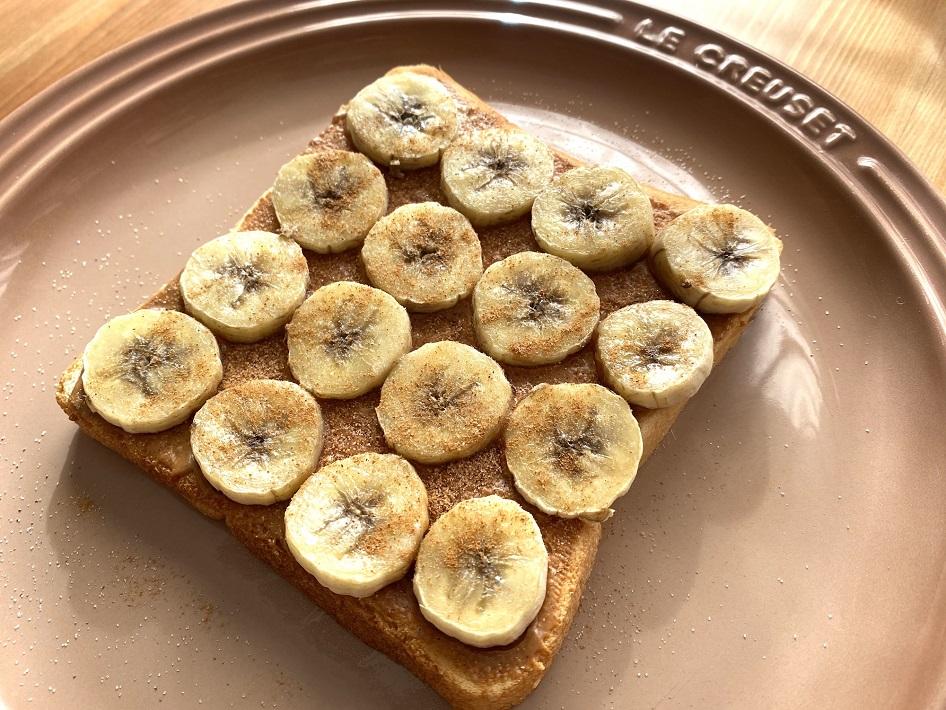 ピーナツバターのおすすめアレンジレシピは簡単ピーナツバナナトースト
