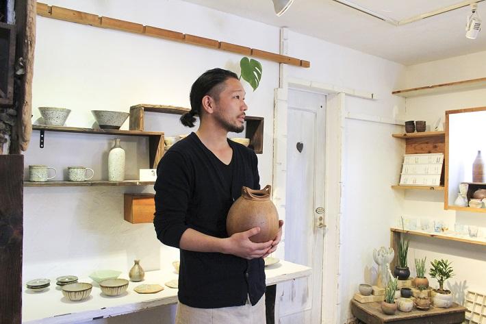 千葉陶芸工房の外山先生