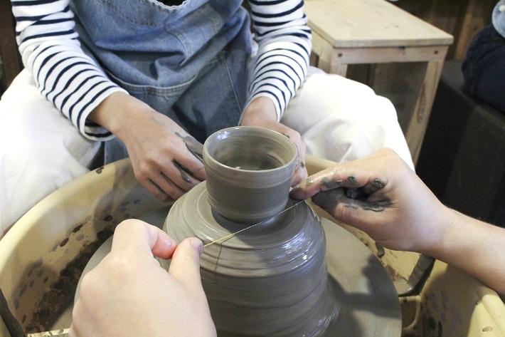 千葉陶芸工房で電動ろくろ体験