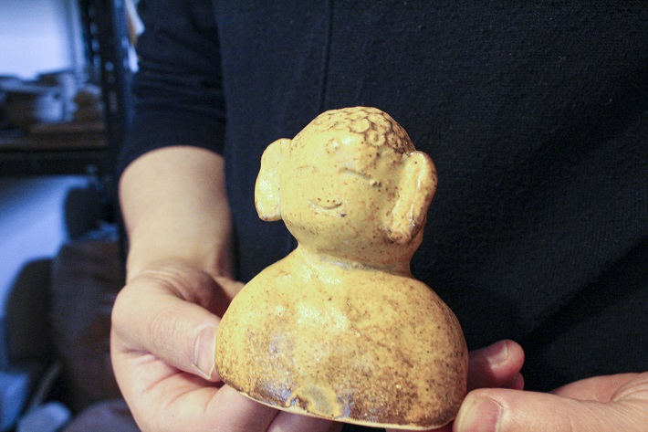 千葉陶芸工房で制作した小学生の作品