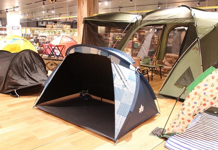 ベランピングにおすすめのテントはロゴスのデザインフルパラシェード(JAPON)