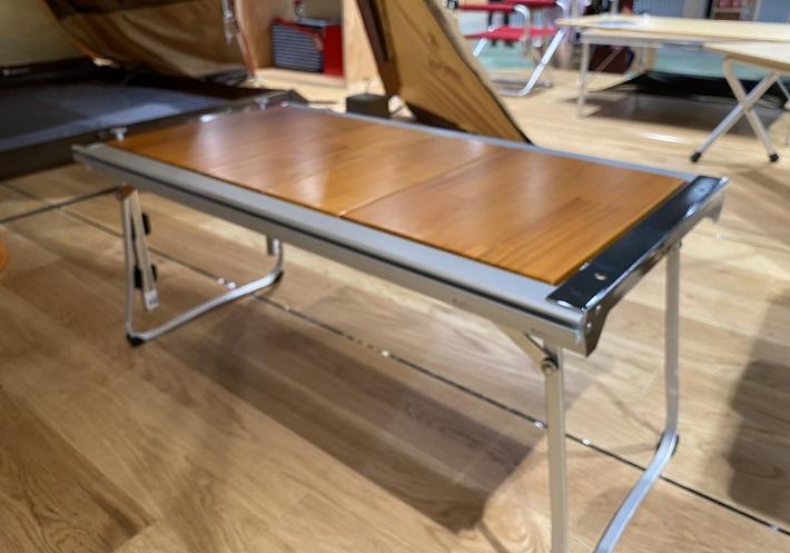 ベランピングにおすすめのテーブルはスノーピークのエントリーIGT