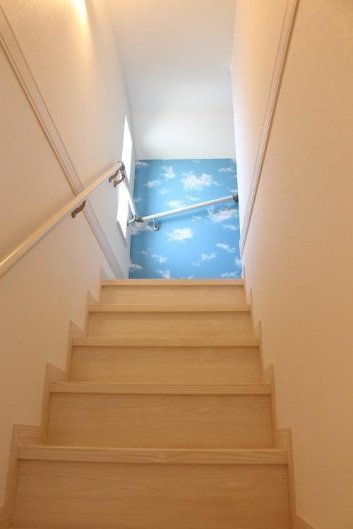 野崎家長女の一人部屋の階段