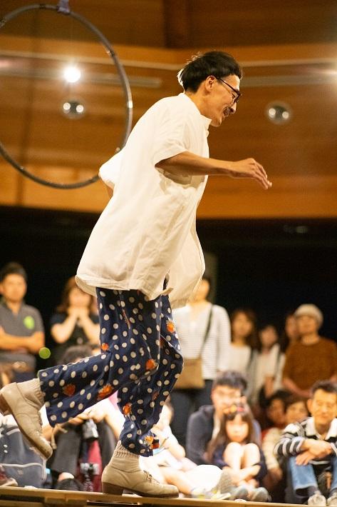 タップダンサーの村田正樹さん