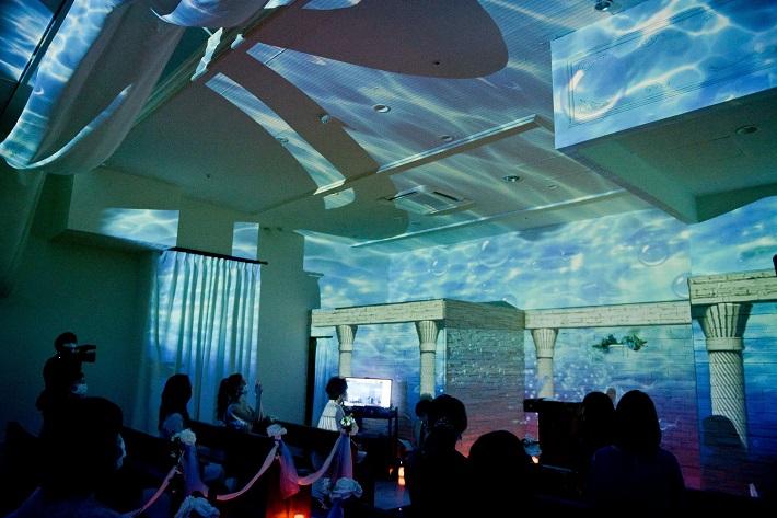 グランサウスオーシャンズ海浜幕張が企画した「次世代WEBウェディング」