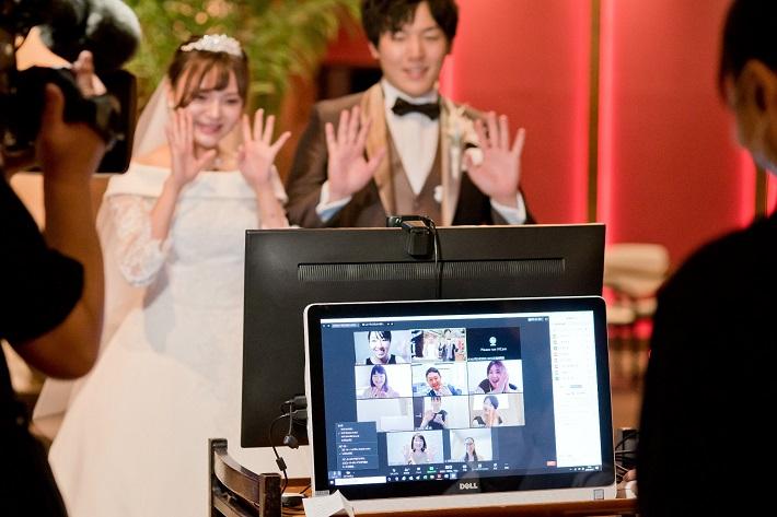 オンライン結婚式を開催するグランサウスオーシャンズ海浜幕張