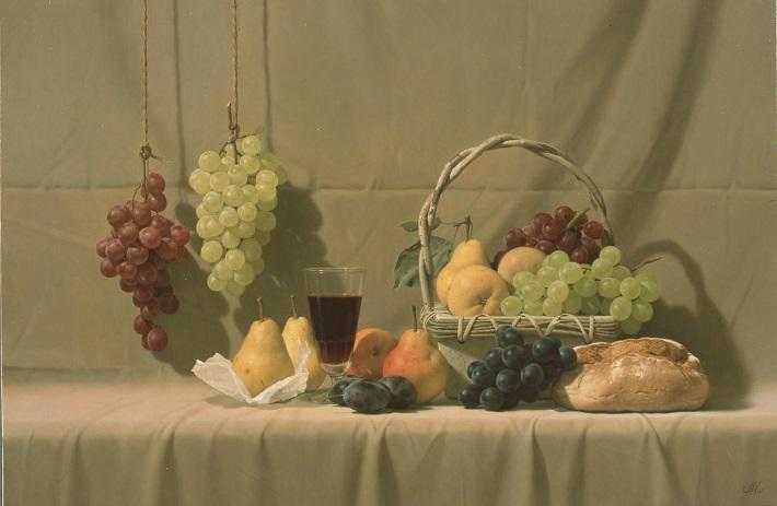 森本草介《果物たちの宴》2001年 ホキ美術館