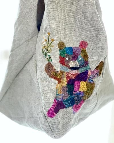 mimster(ミムスター)さんのダーニング刺繍