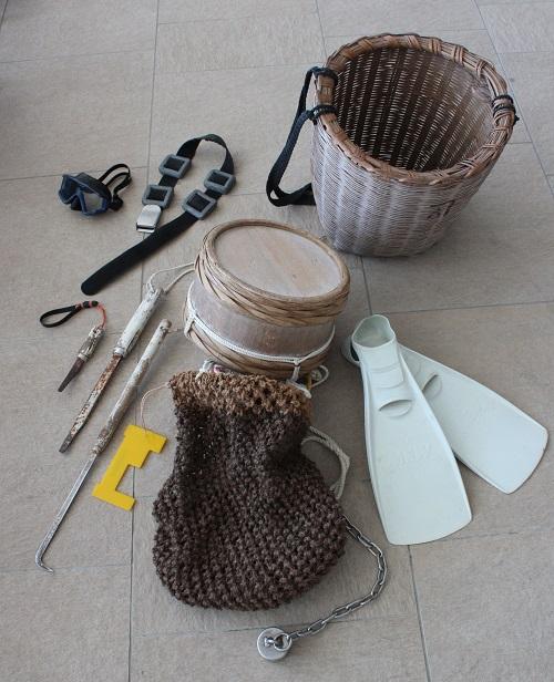 海女の道具