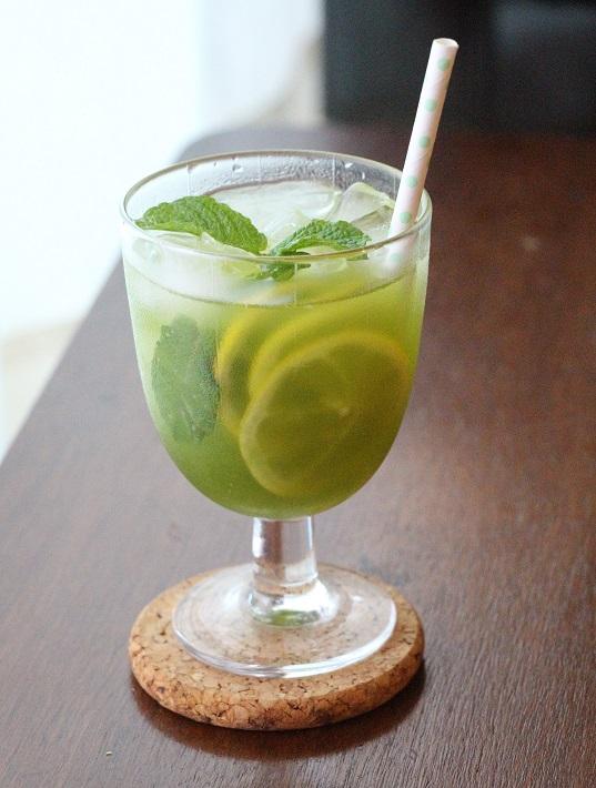 緑茶×レモネード